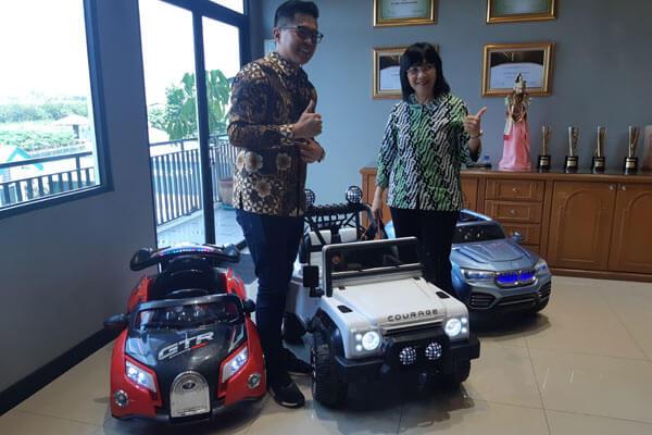 Kunjungan Ibu Gati Wibawaningsih Selaku Direktur Jendral Industri Kecil Menengah Dan Aneka